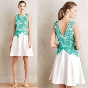ANTHROPOLOGIE ARBOR LACE DRESS